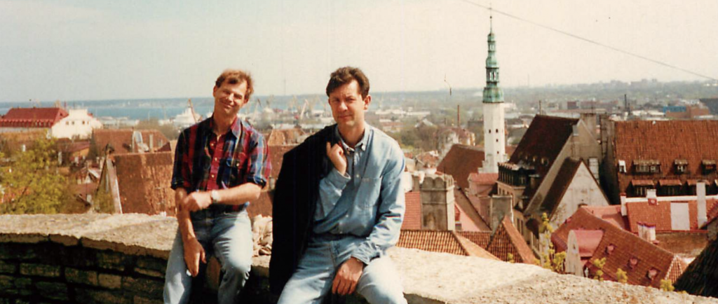 Graham Gunn & Jan Cisek Feng Shui Consultants in Tallinn Estonia