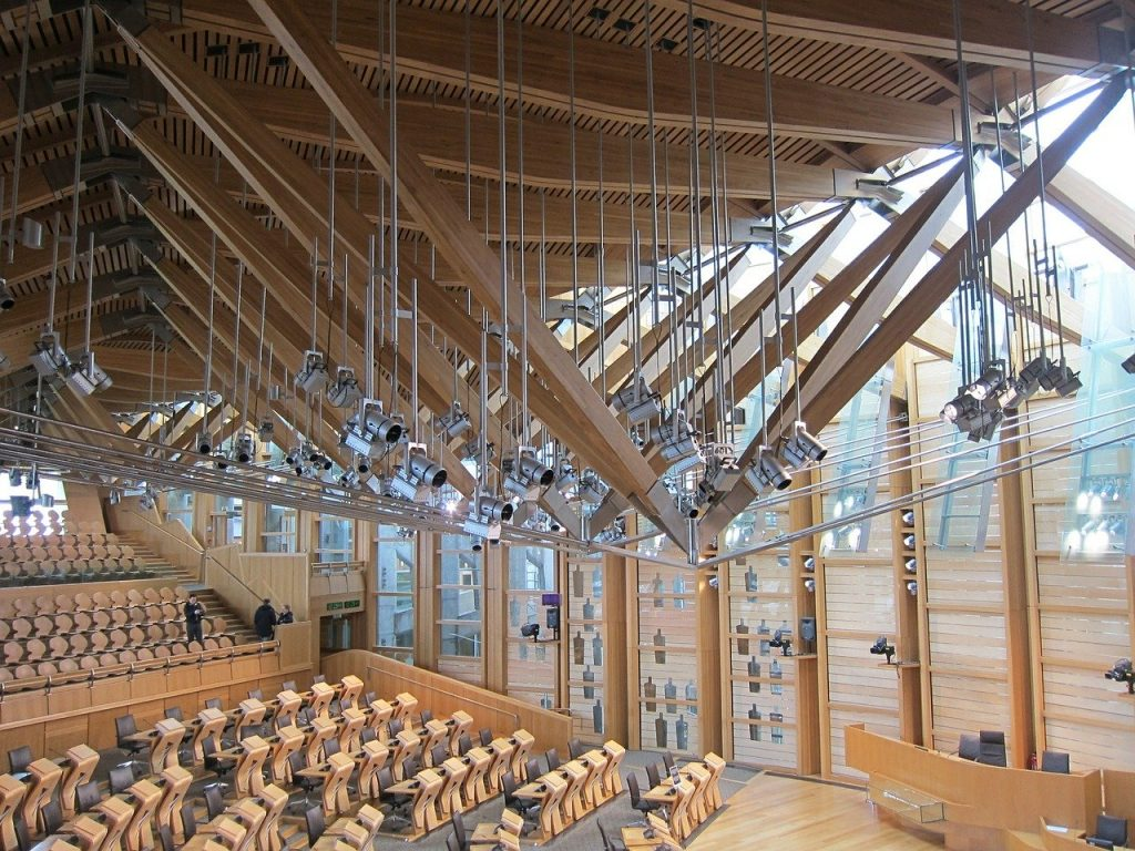 Feng shui of the Scottish Parlament