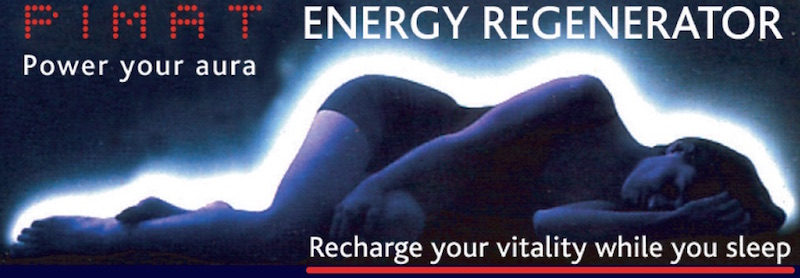 Power your aura, Recharge your vitality while you sleep