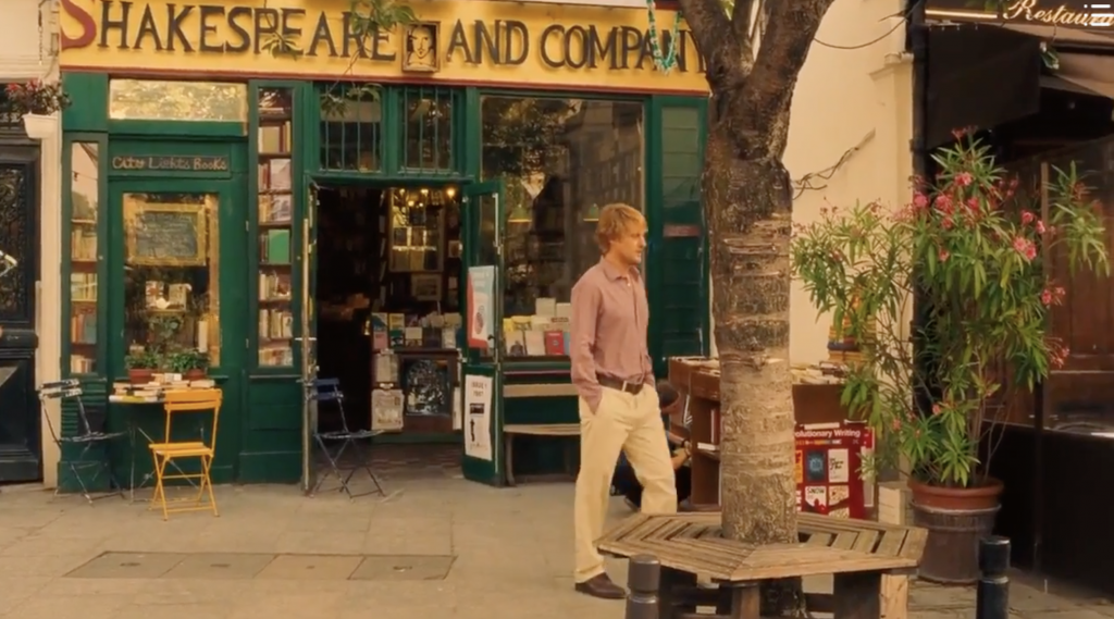 Shakespeare and Company in Woody Allen's Midnight in Paris