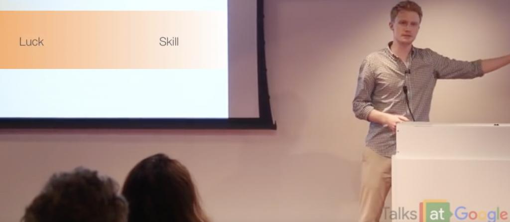 Adam Kucharski on luck and skill spectrum