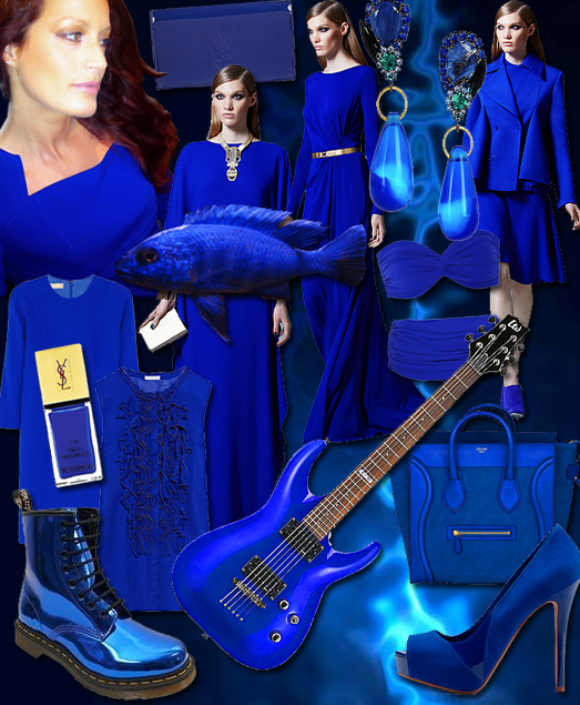 Electric Blue The Colour Of 2017