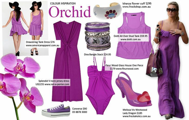 Radiant orchid for 2014 fashion trends
