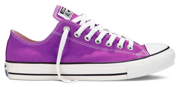 Radiant orchid Converse