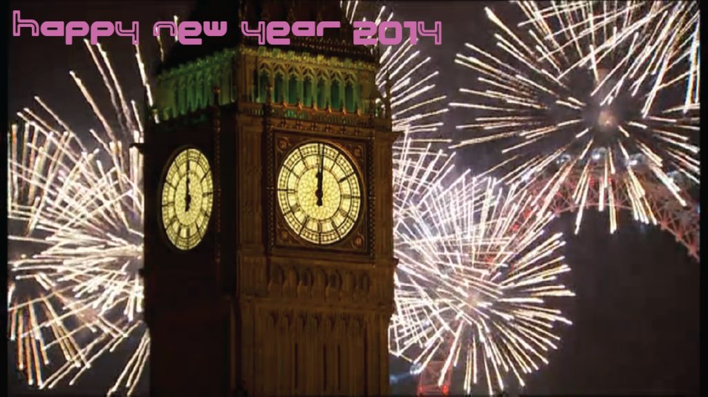 Happy New Year 2014 from London