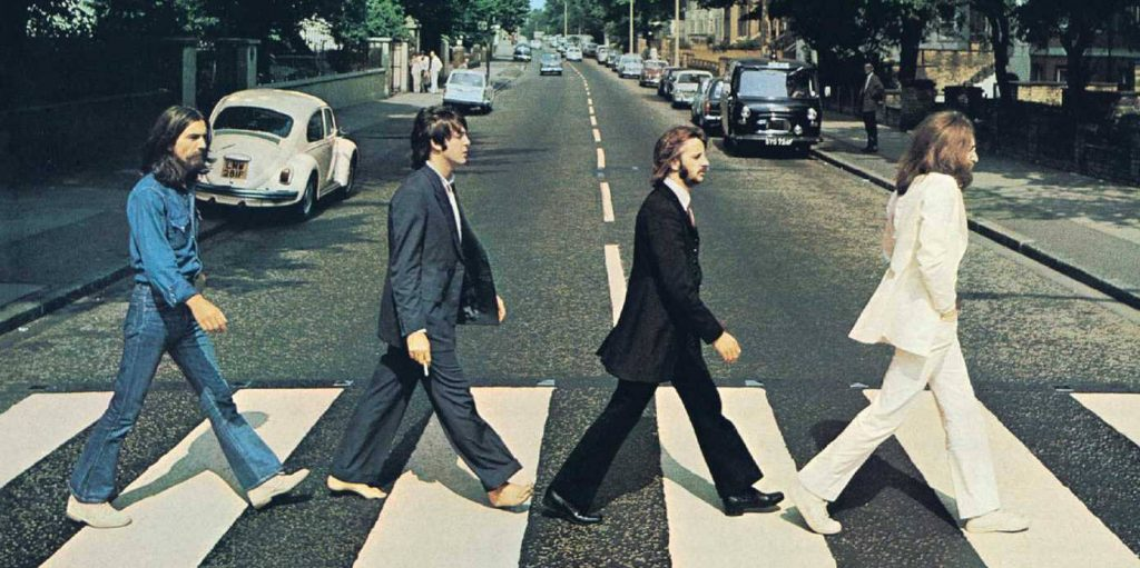 Grounding earthing routine of Paul McCartney of the Beatles