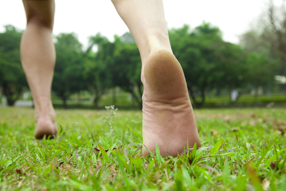 Grounding or earthing has many health benefits