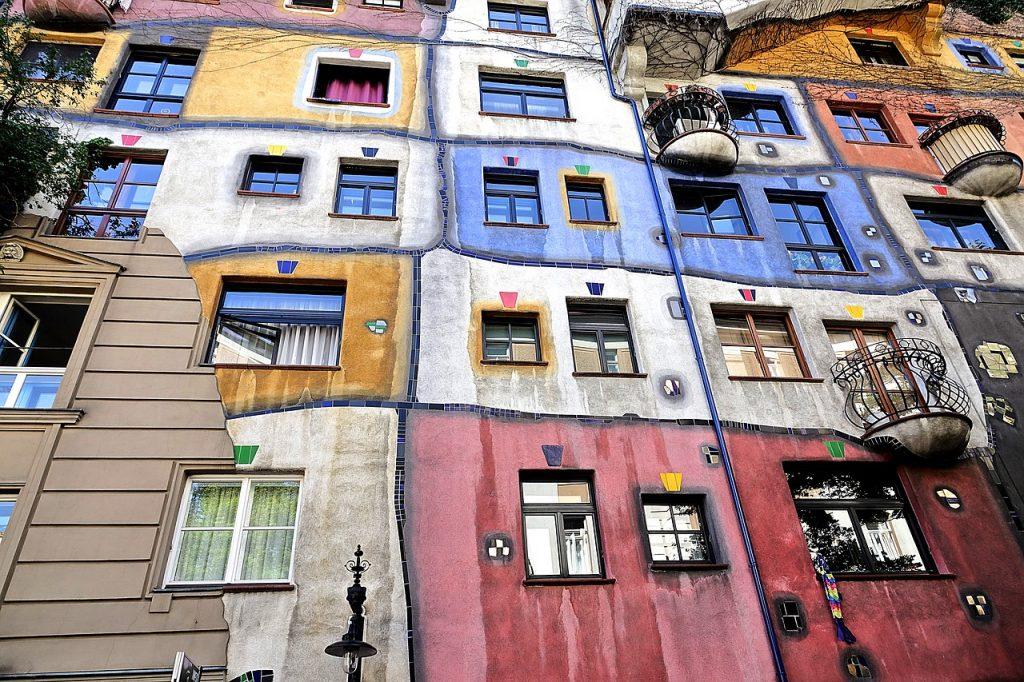Feng Shui of Hundertwasserhaus, Vienna
