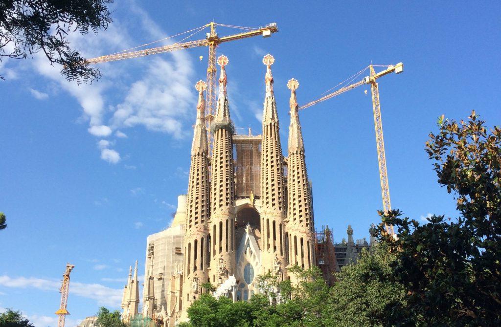 La Sagrada Familia and spiritual feng shui