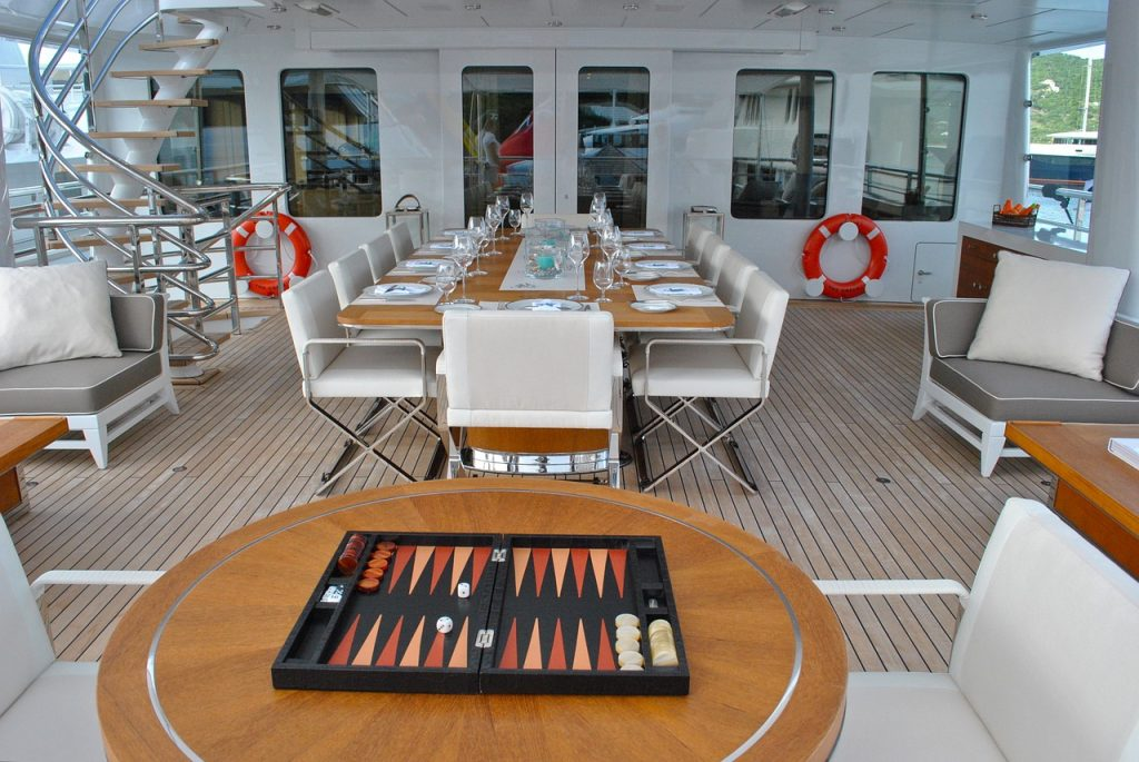 Feng shui of superyachts