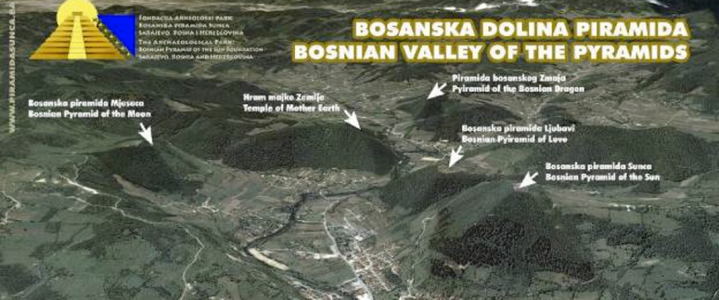 Bosnia and Herzegovina: Archaeological Park: Bosnian Pyramid of the Sun, Bosnian Valley of the Pyramids in Visoko