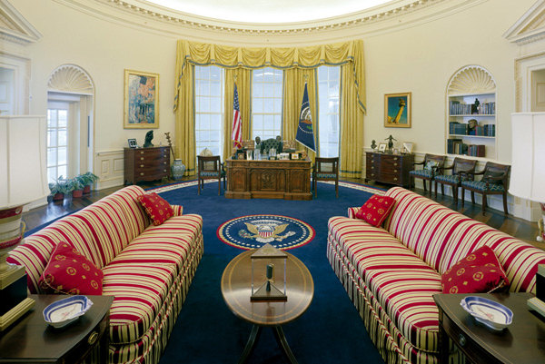 Oval Office House House - feng shui'ed?
