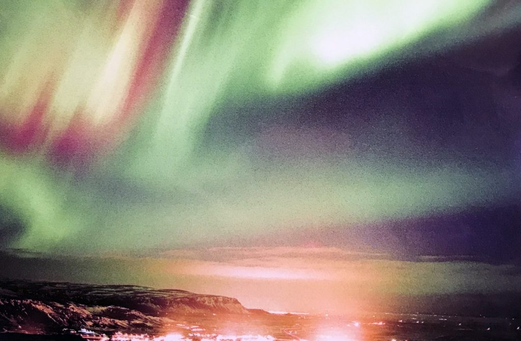 Iceland aurora borealis – Northern light