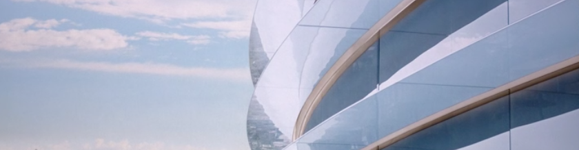 Apple's new HQ in Cupertino - curved shapes