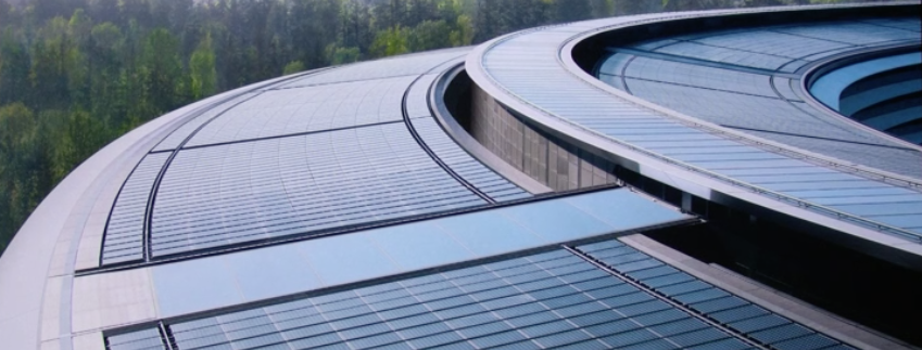 Apple's new HQ in Cupertino - Solar powered