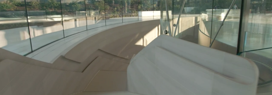 Apple's new HQ in Cupertino - attention to detail