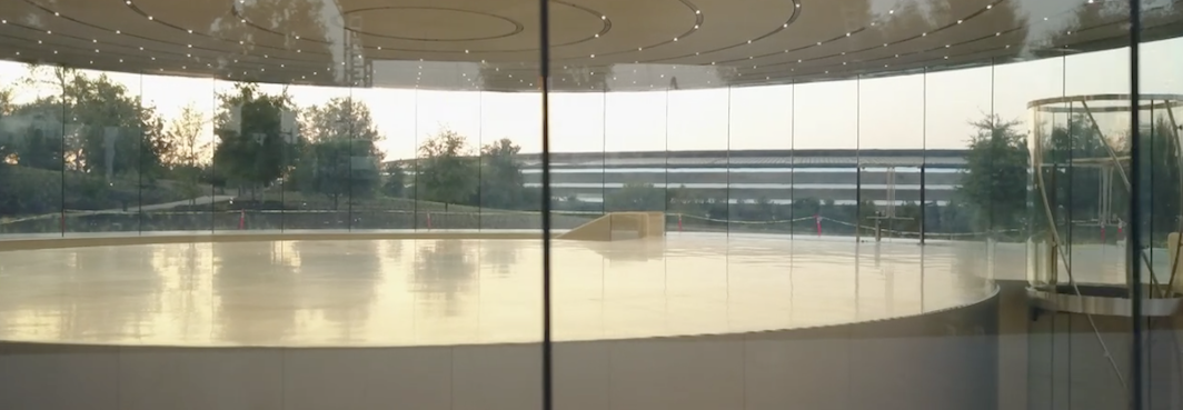 Apple's new HQ in Cupertino - inside out