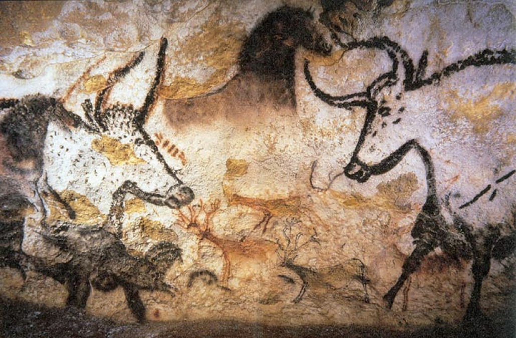 Lascaux Cave paintings (Montignac, Dordogne, southwestern France)