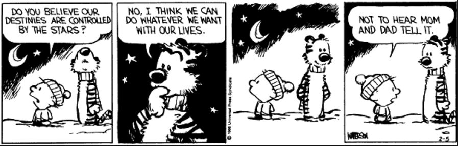 Who is more right, Calvin or Hobbes?