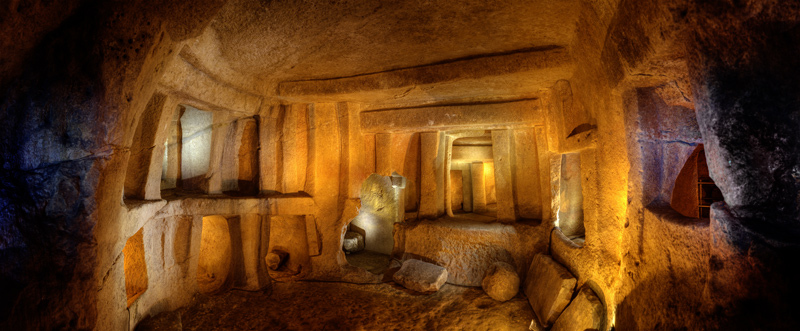 Hypogeum of Malta, the oracle room