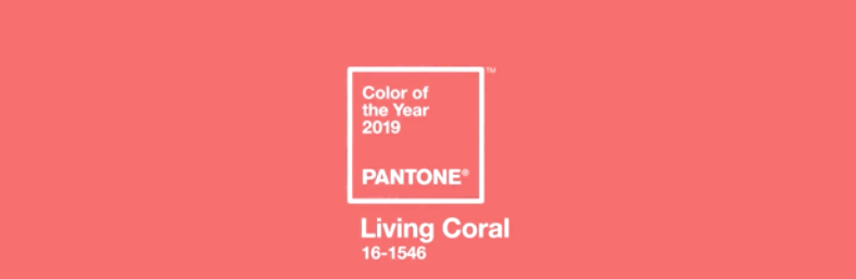 THE PANTONE COLOR OF THE YEAR 2019 PANTONE 16-1546 Living Coral