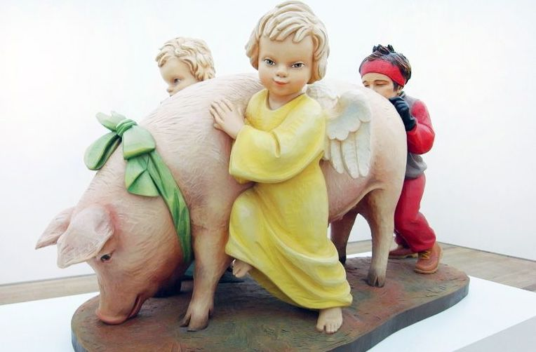 2019 The Year of the Pig - by Jeff Koons