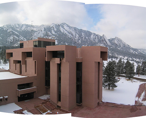 National Center for Atmospheric Research in Boulder, Colorado by IM Pei