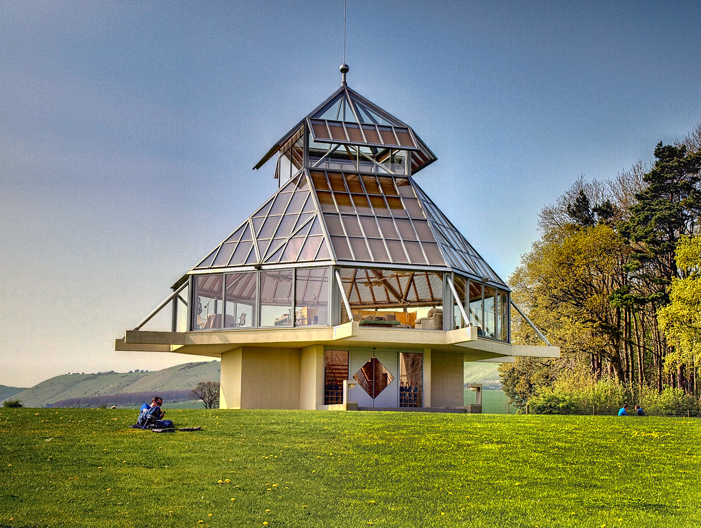Oare Tea House Pavilion by IM Pei