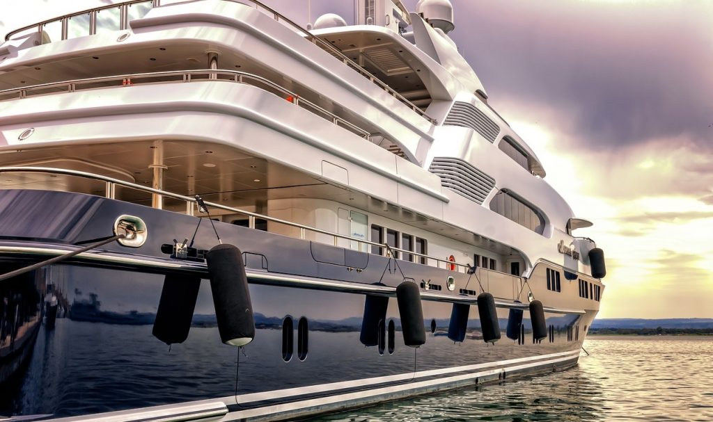 feng shui of super yachts