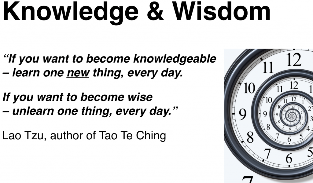 How to get knowledge and wisdom