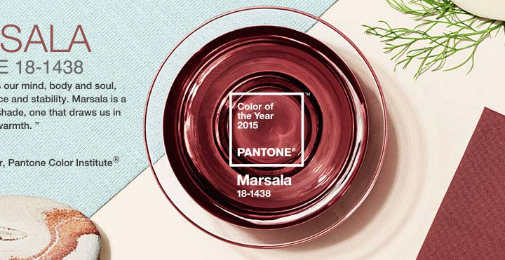 Marsala - The colour of 2015